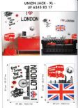 Life Creative Stickers Union Jack XL LIF 6245 82 17 LIF62458217 By Caselio